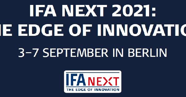 Příležitost pro startupy: IFA NEXT – THE EDGE OF INNOVATION
