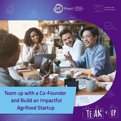 Najděte si správného spoluzakladatele pro svůj zemědělsko-potravinářský startup!
